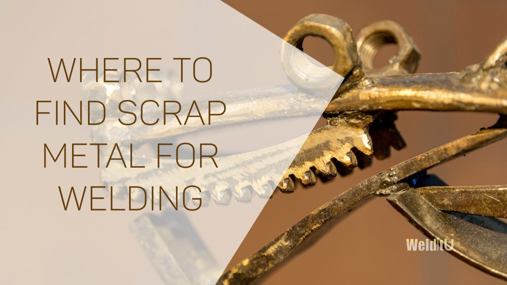 Here's where to find scrap metal for welding
