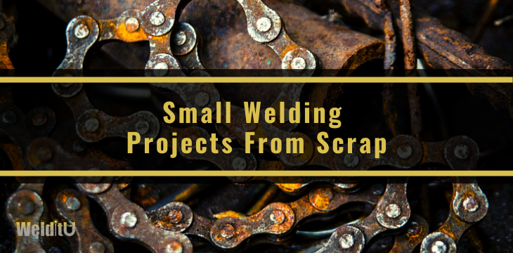 Featured image for small welding projects from scrap