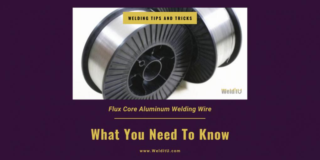 Flux Core Aluminum Welding Wire