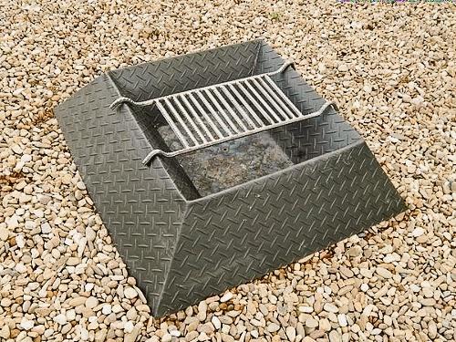 Rebar Fire Pit Grill