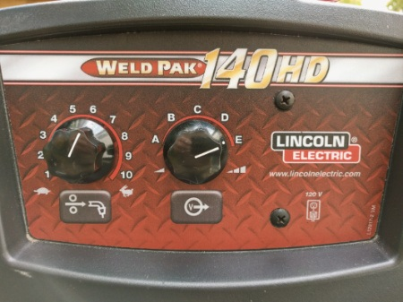 what size generator for 140 amp welder