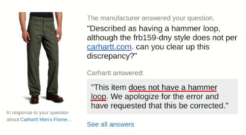 carhartt welding pants response