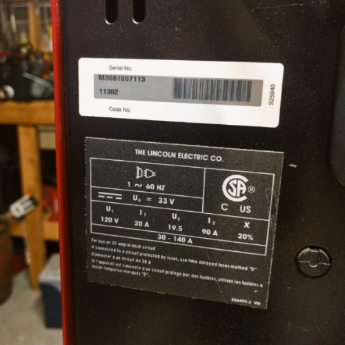 What Size Of Wiring For Lincoln Arc Welder With 50 Amp Breaker from welditu.com