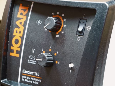 Hobart Handler 140 control panel
