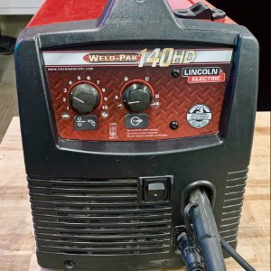 lincoln 140 mig welder front panel