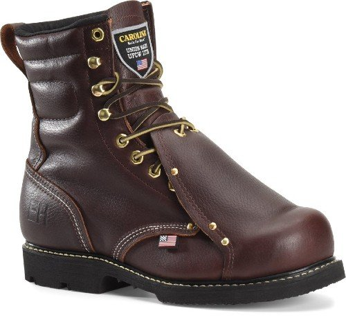 Carolina 8-inch lace-up INT welding boot.