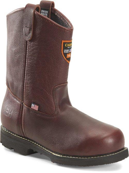 Side view of Carolina No. CA520 INT Wellington steel toe boot