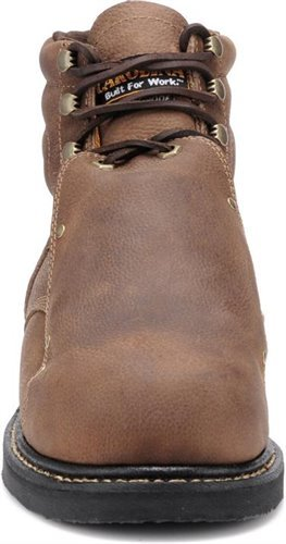 Front view of toe of Carolina INT LO style CA5501 boot