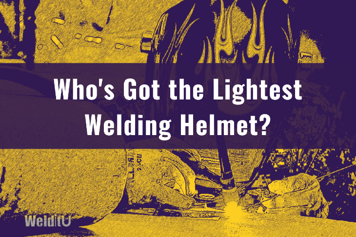 Stylized graphic showing showing a person TIG welding with a text overlay asking:
